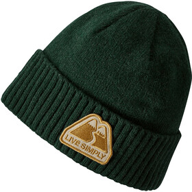Patagonia Brodeo Beanie Live Simply Winding: Micro Green